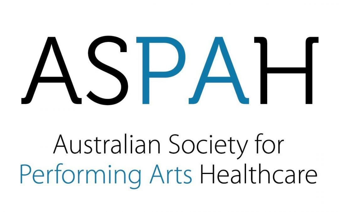 Report: Australian Society of Performing Arts Health Conference 2019