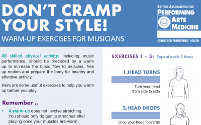 Warm Up Exercises for Musicians: 2020 Update