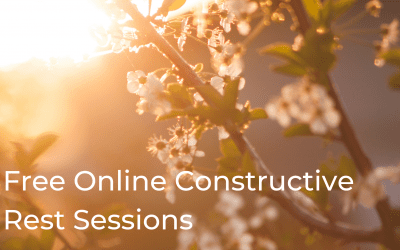 More Free Online Alexander Technique Constructive Rest Sessions