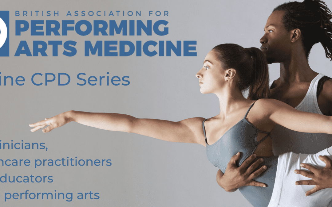 Practitioners' Online CPD: Hypermobility & the Performing Artist