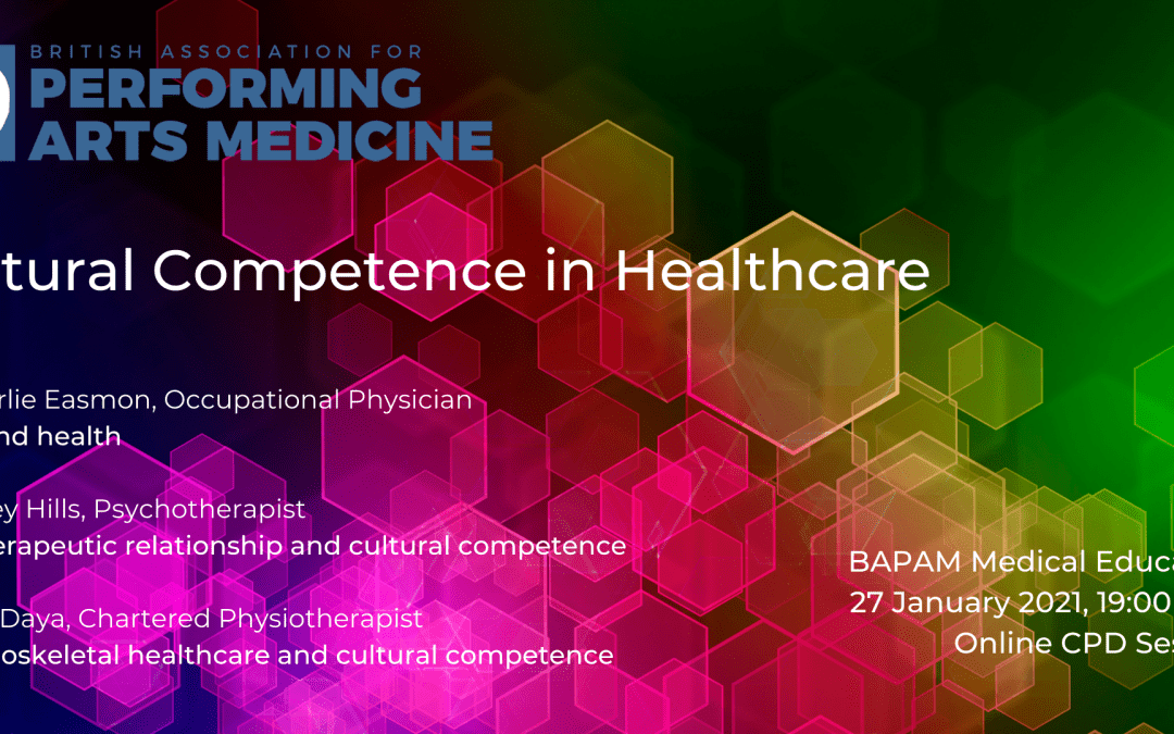 Practitioners' Online CPD: Cultural Competence in Healthcare