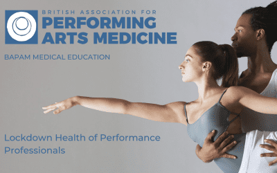 Practitioners Online CPD Report: Lockdown Health of Performance Professionals