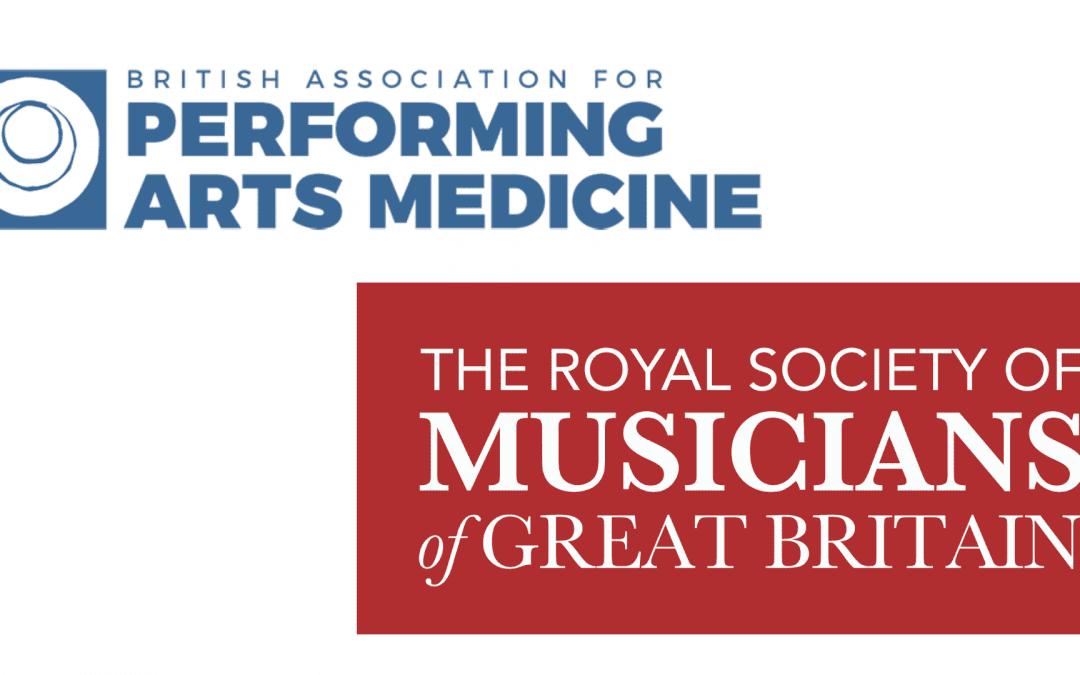 The RSM & BAPAM Present: Managing Musicians' Pain