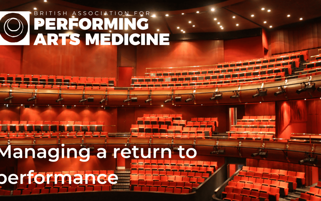 Managing a return to performance