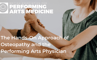 The Hands-On Approach of Osteopathy and the Performing Arts Physician
