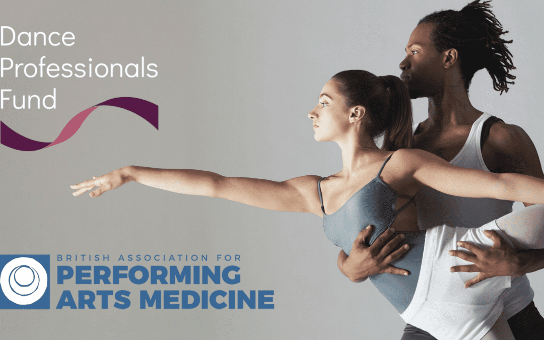 Counselling for Dance Professionals from BAPAM and Dance Professionals Fund